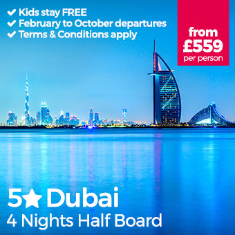 5 Star Dubai - Half Board